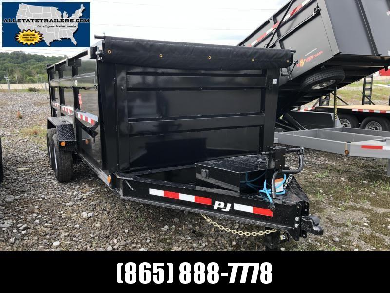 2020 PJ Trailers (7 x 16) DM162 Dump 14000#