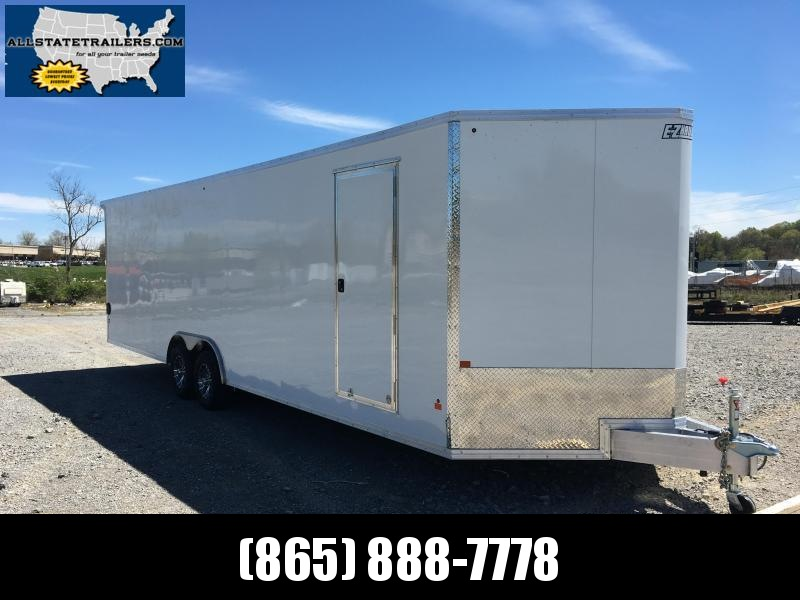 2017 EZ Hauler ( 8 x 28) EZEC8X28CH Car / Racing Trailer