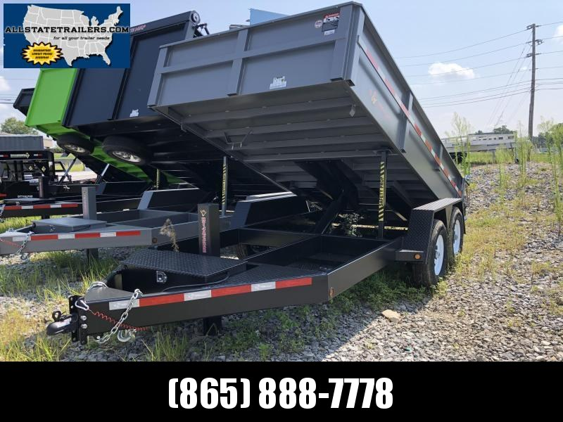 2018 B-Wise Dump Trailer Heavy Duty 7 x 14