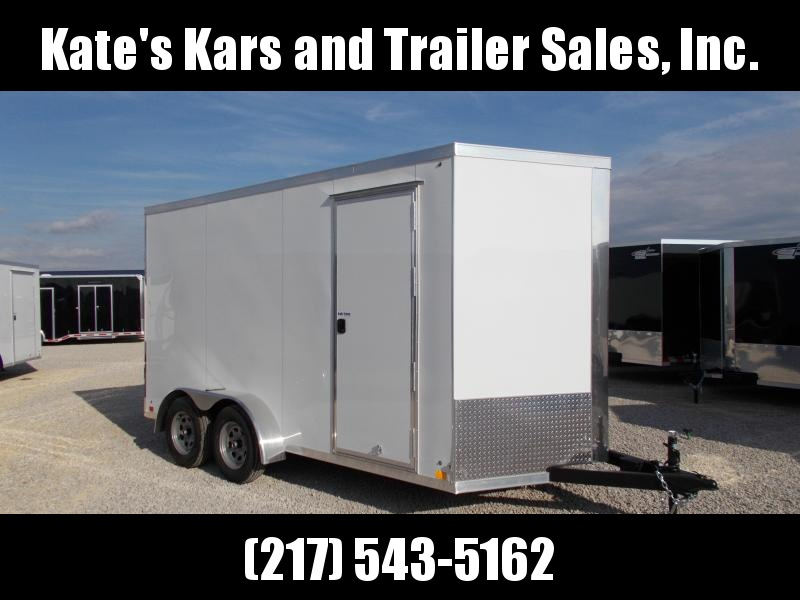 Cross Enclosed Cargo Trailer 7X14' Extra Tall 7' Interior