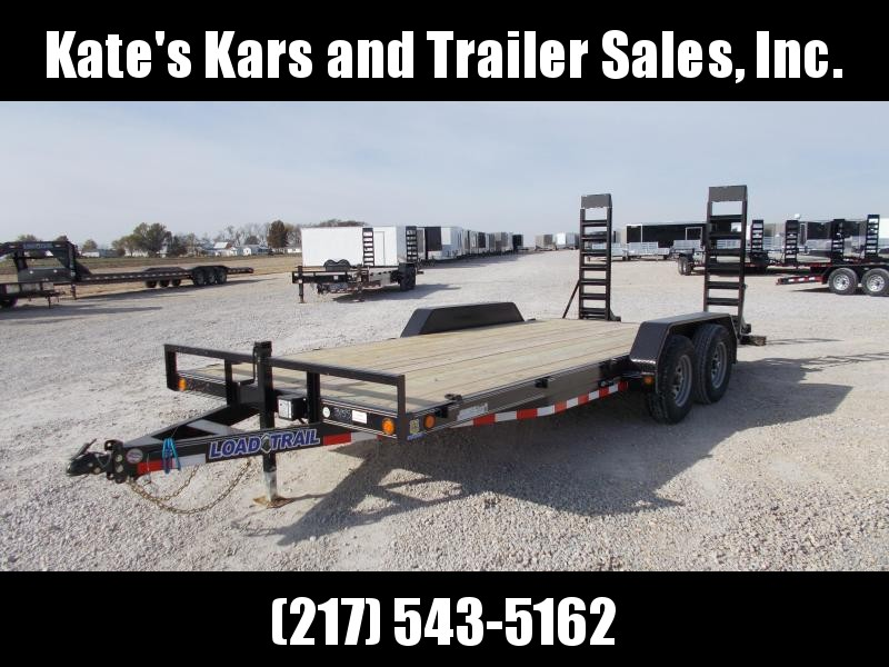 2020 Load Trail 83X18 9990GVWR w Stand Up Ramps Equipment Trailer