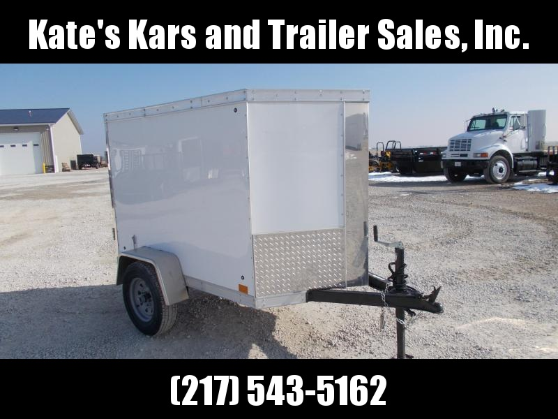 2019 Cross Trailers Used 4X6 Enclosed Cargo Enclosed Cargo Trailer