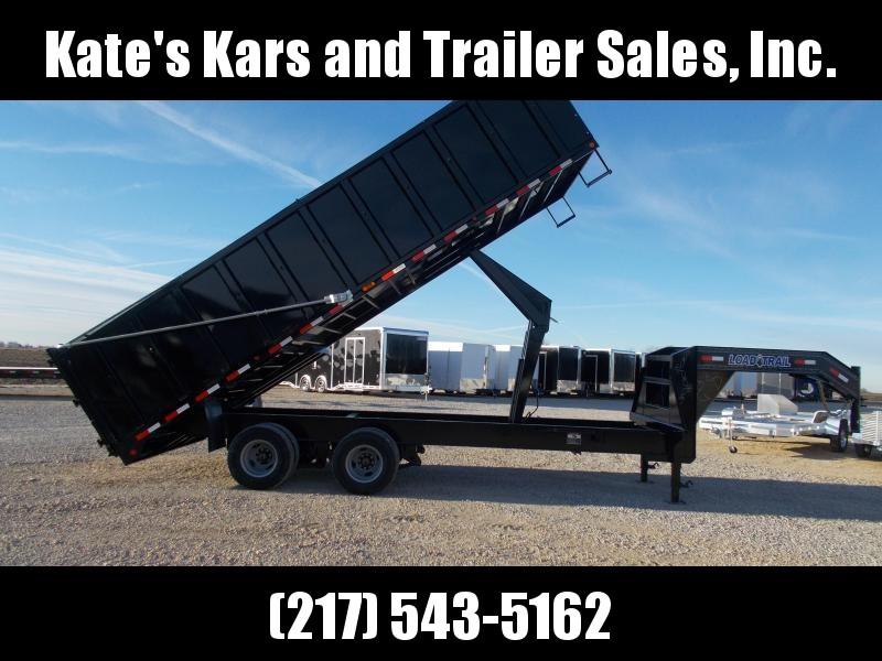 """2020 Load Trail 102X22' Deckover Tandem Dual Gooseneck 22K 48"""" Sided Dump Trailer"""