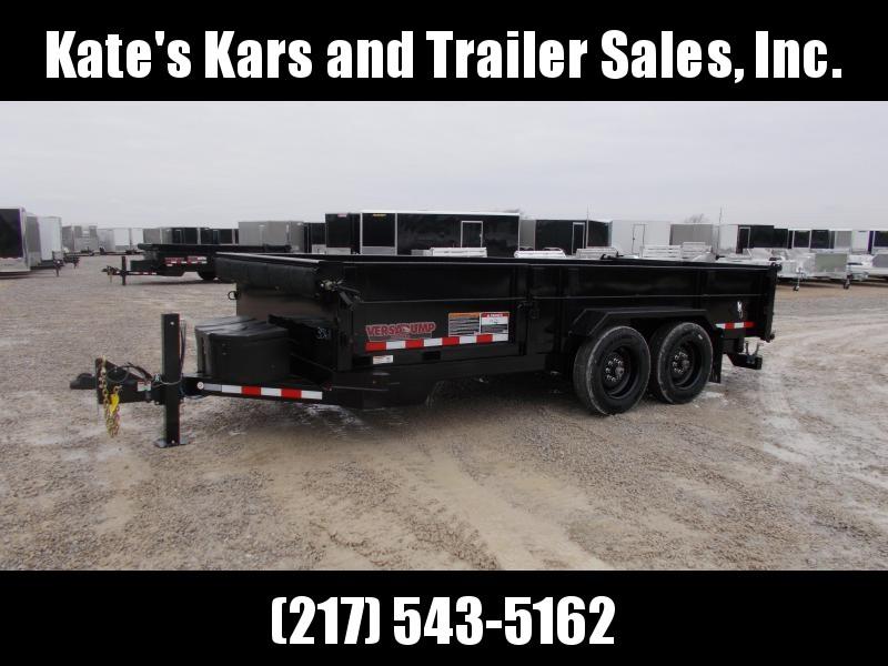 2020 Midsota 82X16' 15.4K GVWR Side Door Fork Holders Dump Trailer