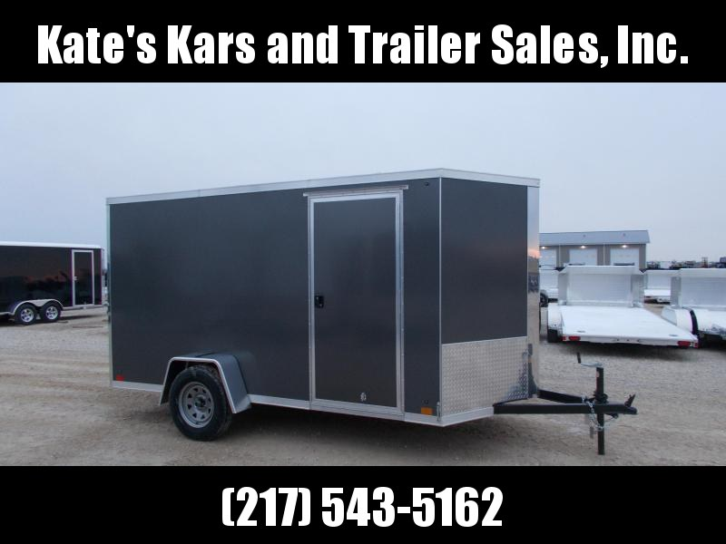 *NEW* SCREWLESS SIDES Cross 6x12' Enclosed Cargo Trailer HD