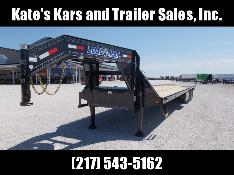 2020 Load Trail 102X36' 24K Hydro Dovetail+Jacks Flatbed Trailer