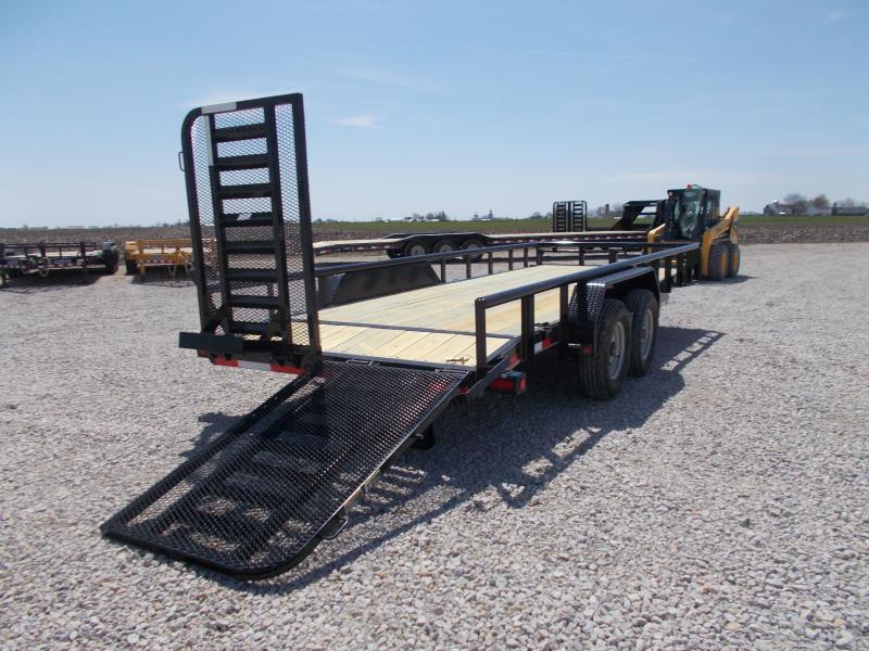 "*NEW* PIPETOP!! Load Trail 83""x20' CS Equipment Landscape Trailer"