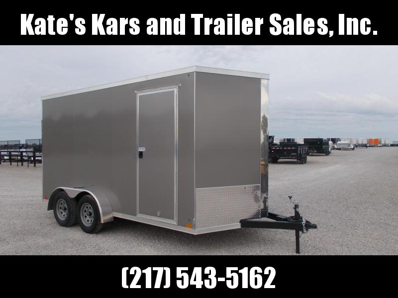 2020 Cross Trailers 7X14' Extra Tall 7' Interior Trailer Enclosed Cargo Trailer