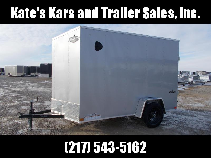 2021 Impact Trailers 6X10 Single Axle UTV Package Enclosed Cargo Trailer