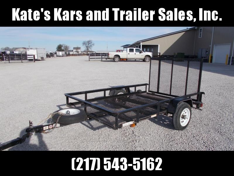 2015 Carry-On 5X8 Single Axle Light Weight Utility Trailer