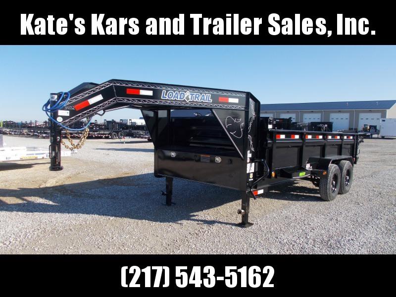 2020 Load Trail 83X16' Gooseneck 14K Dump Trailer