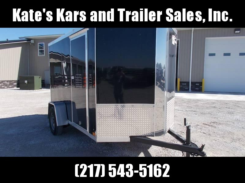 2020 Cross Trailers 6X10 USED Single Axle Screwless Sides Enclosed Cargo Trailer