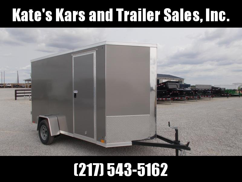 DOUBLE REAR DOOR Cross 6X12' Enclosed Cargo Trailer for sale
