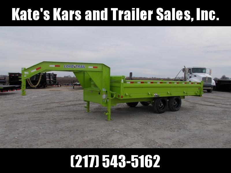2020 Load Trail 16' Tandem Axle Gooseneck Deckover Dump Trailer