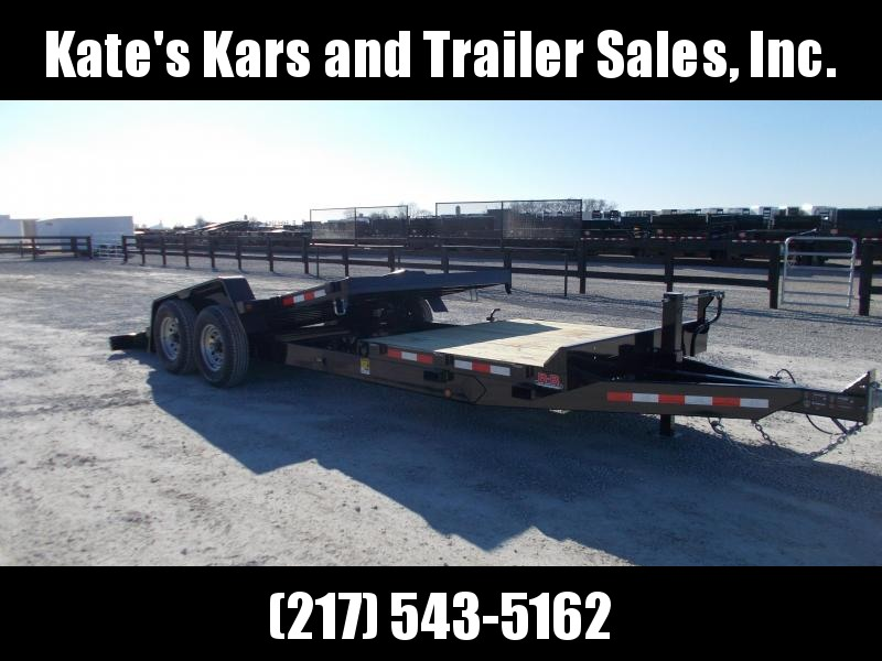 *NEW*  B-B 83X22 Tiltbed 14k LB Equipment Trailer