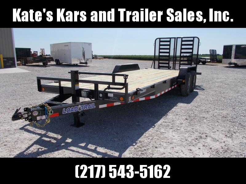 2020 Load Trail 83X22 14KGVWR Skid Loader Equipment Trailer