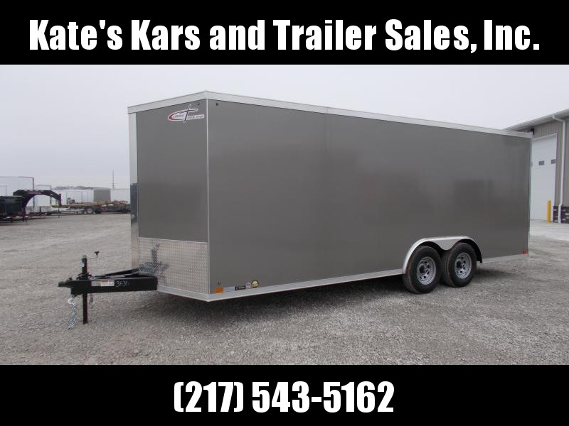 2020 Cross Country Manufacturing 8.5X20' Screwless Sides 9990GVWR LED Lighting Enclosed Cargo Trailer