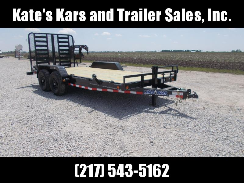 *NEW* Load Trail CH14 Carhauler 83 x 18' Equipment Flatbed Trailer
