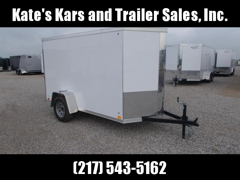 2020 Cross Trailers 5X10' Extra tall Enclosed Cargo Trailer
