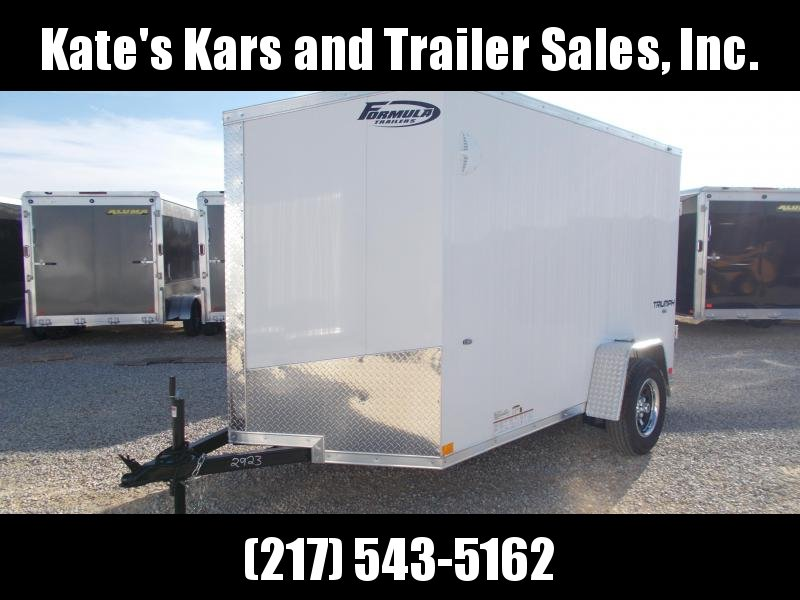2020 Impact Trailers 6X10 Single Axle Screwless Sides Sharp Looking Enclosed Cargo Trailer