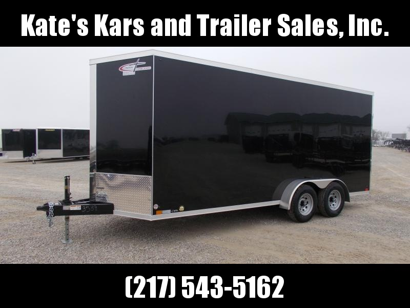 "2020 Cross Trailers 7X18 12""+Tall 9990GVWR D-Rings Enclosed Cargo Trailer"