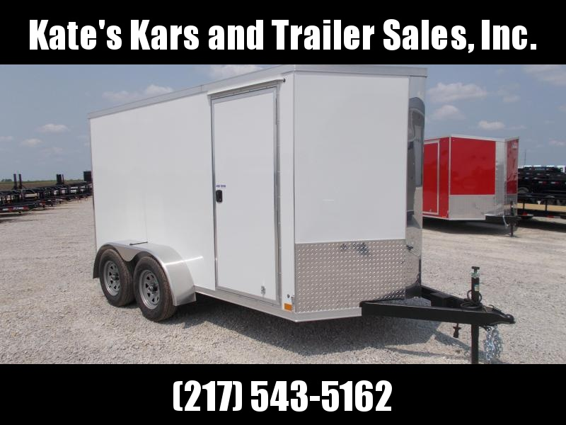 *TANDEM AXLE! Cross 6X12' HD Enclosed Cargo Trailer