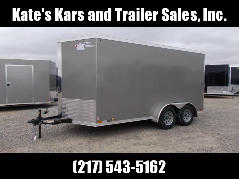 "2021 Cross Trailers 7X14 6"" Extra Tall 7K GVWR Enclosed Cargo Trailer"