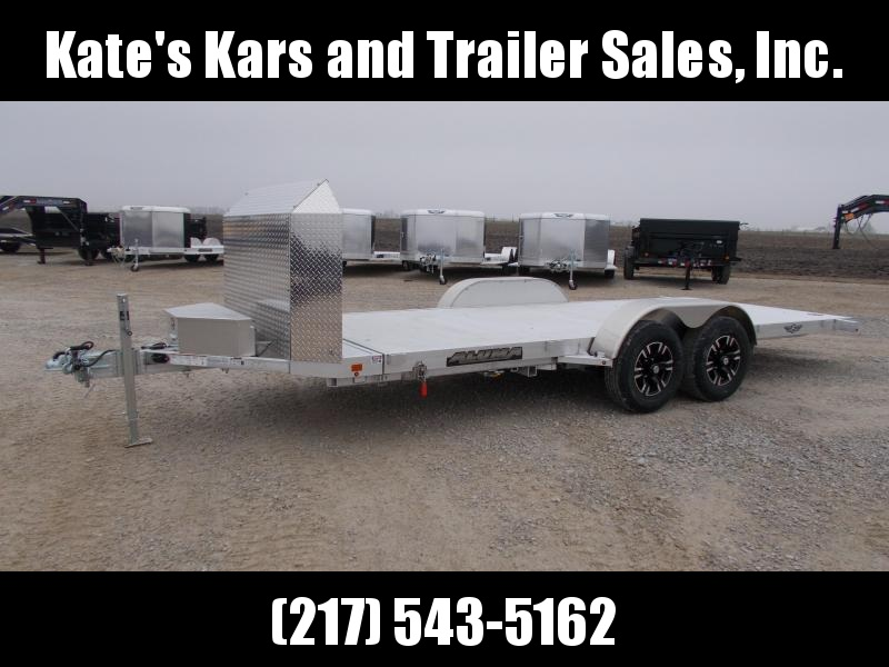 2020 Aluma 81X18' 9990GVWR HD Aluminum Tilt Equipment Trailer