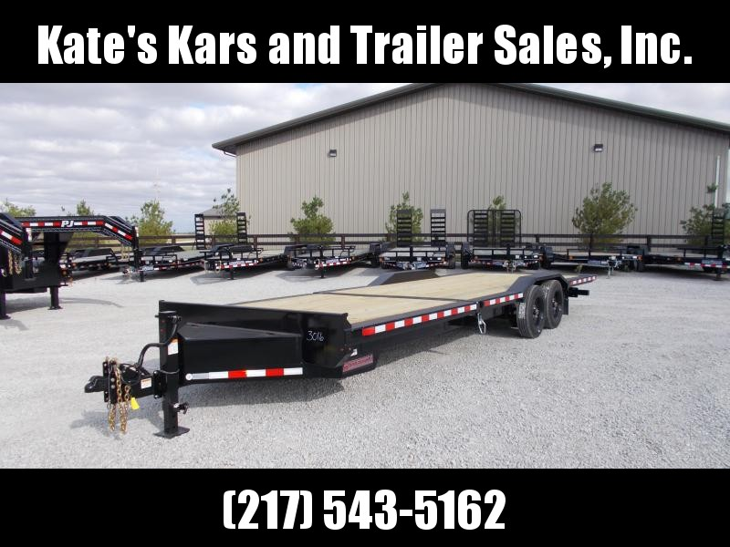 2020 Midsota 102X26 Heavy Duty Drive Over Fender Tilt Equipment Trailer