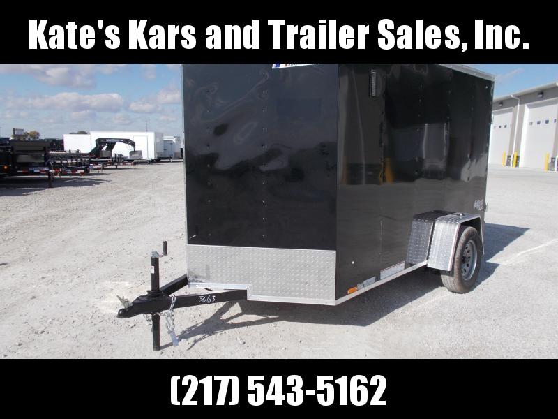 2020 Pace American 6X10 Single Axle Side Door Rear Ramp Door Enclosed Cargo Trailer