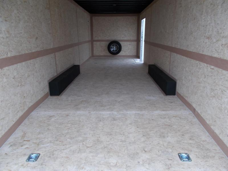 2020 Cross Trailers 8.5X26' Tons of Upgrades 5200# Torsion Axles Enclosed Cargo Trailer
