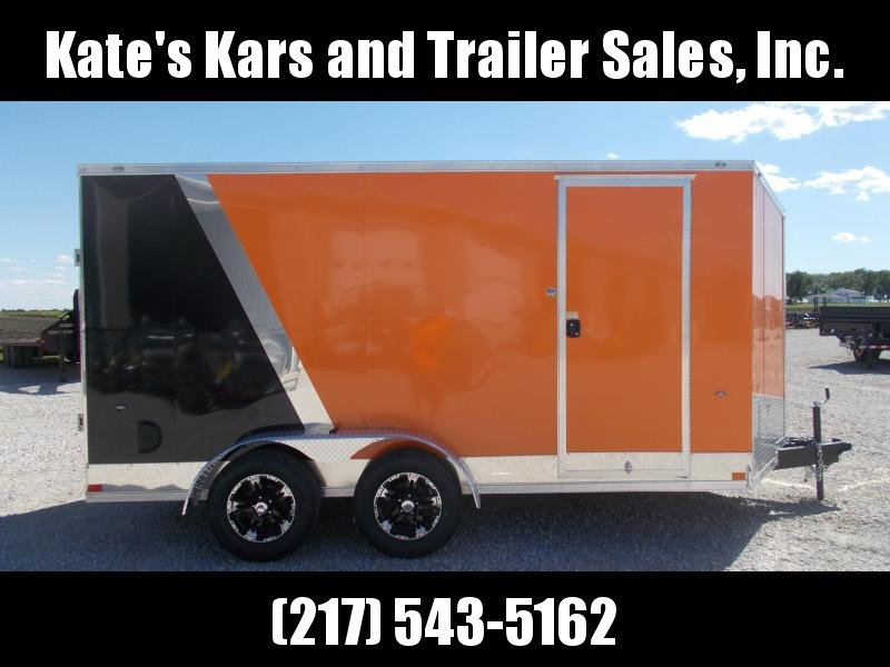*NEW* Impact TWO TONE UPGRADED TRAILER 7X14' Extra Tall Enclosed Cargo Trailer