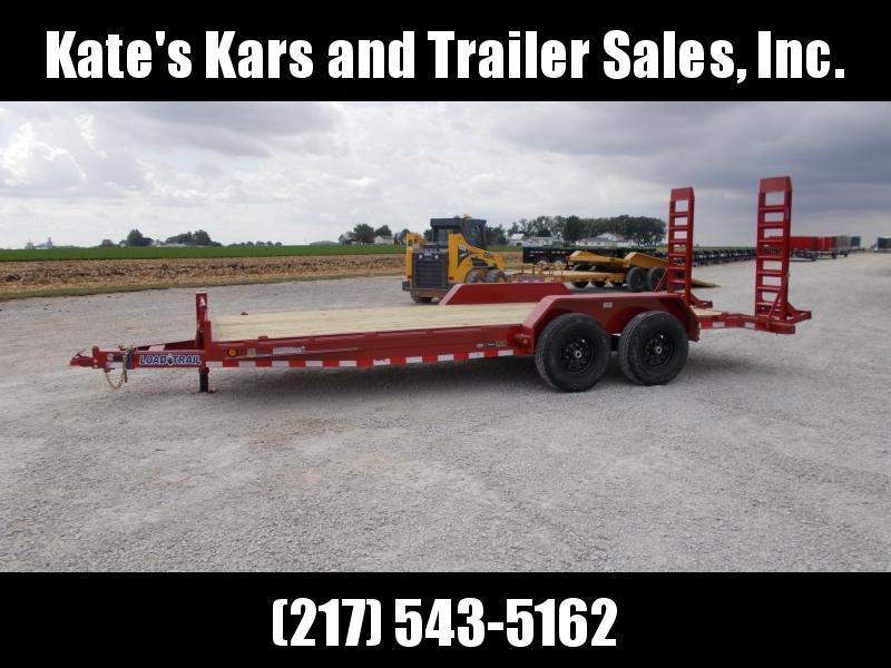 "*NEW* Load Trail 83""X20' Bobcat equipment 14000 LB Trailer"