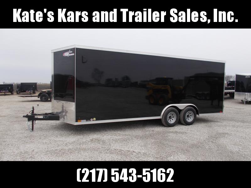 2021 Cross Trailers 8.5X20' D-Rings Side Vents 9990GVWR Enclosed Cargo Trailer