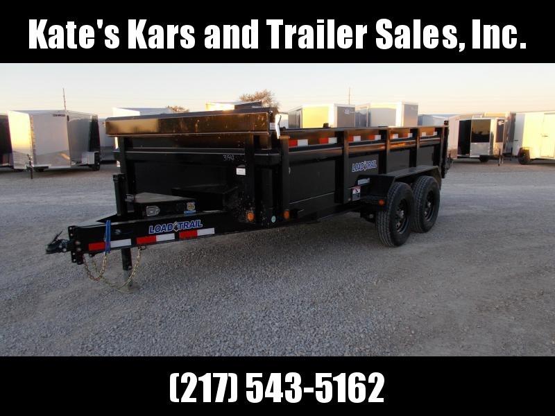 2020 Load Trail 83X14 7K Jack 14K GVWR Dump Trailer