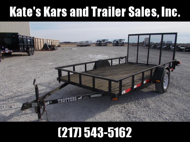 2007 Other 12' Trotter Single Axle Utility Trailer