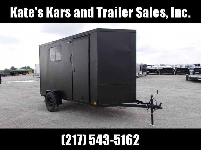 Newcross 6x12 Offroad Trailer With Bed Enclosed Cargo Camper