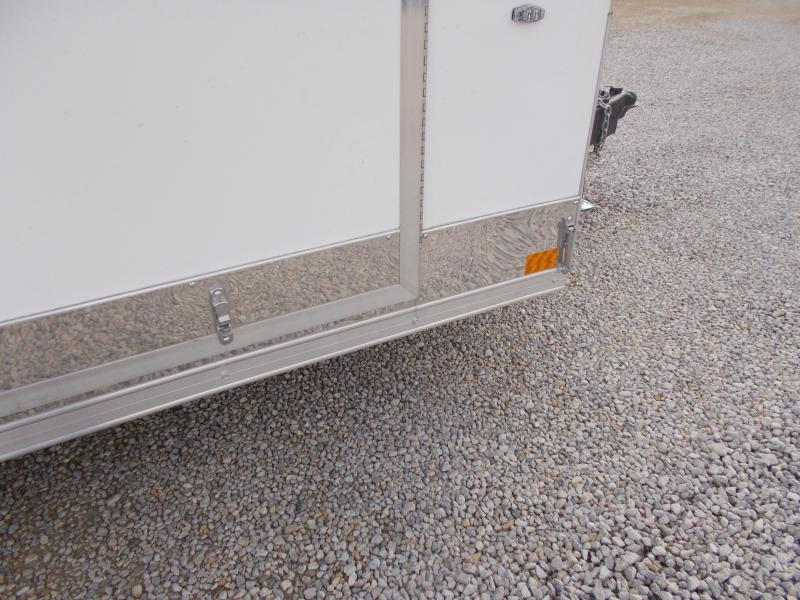 2020 Compass 7X14' Extra Tall 2 Tone Enclosed Cargo Trailer