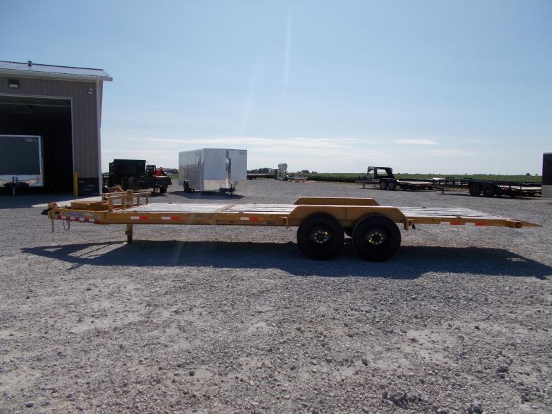*NEW** 16K LB Load Trail 22' Partial Tilt Bobcat TH8322082 Equipment Trailer