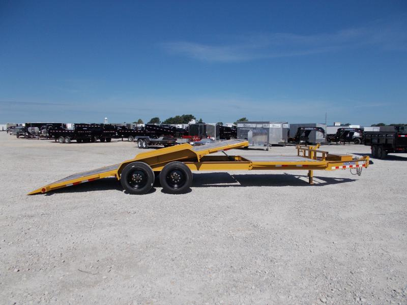 *NEW** 16K LB Load Trail 22' Partial Tilt Bobcat TH8322082 Equipment Trailer