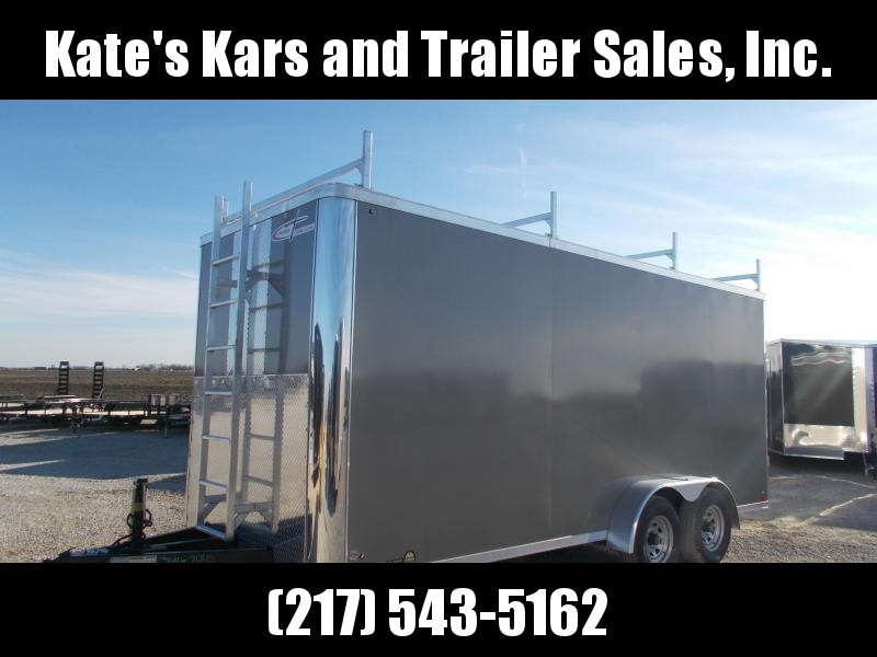 2020 Cross Trailers 7X18 9990GVWR Construction HD Enclosed Cargo Trailer