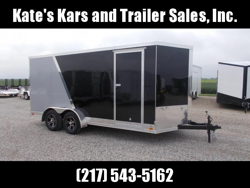 2020 Cross Trailers 7X16' Extra Tall Decked Out Enclosed Cargo Trailer