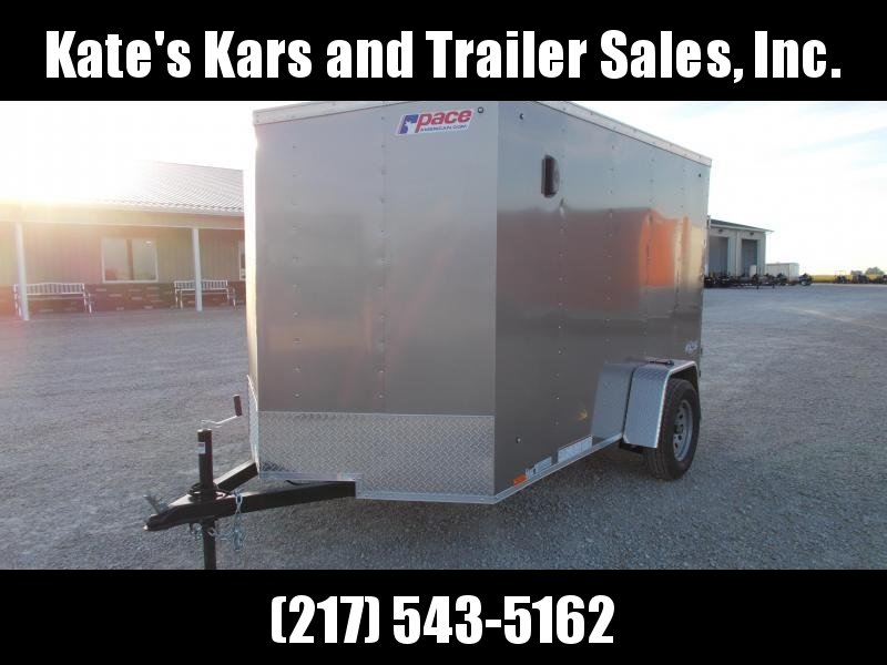 WOWSERS!! Pace  6X10' Enclosed Cargo Trailer w/ side vents