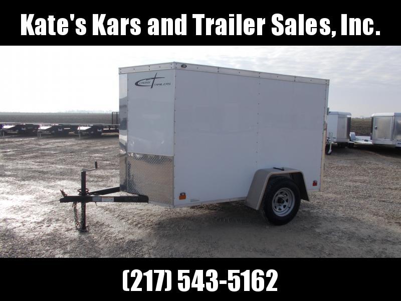 2013 Cross Trailers 5X8 Double Doors Single Axle Enclosed Cargo Trailer