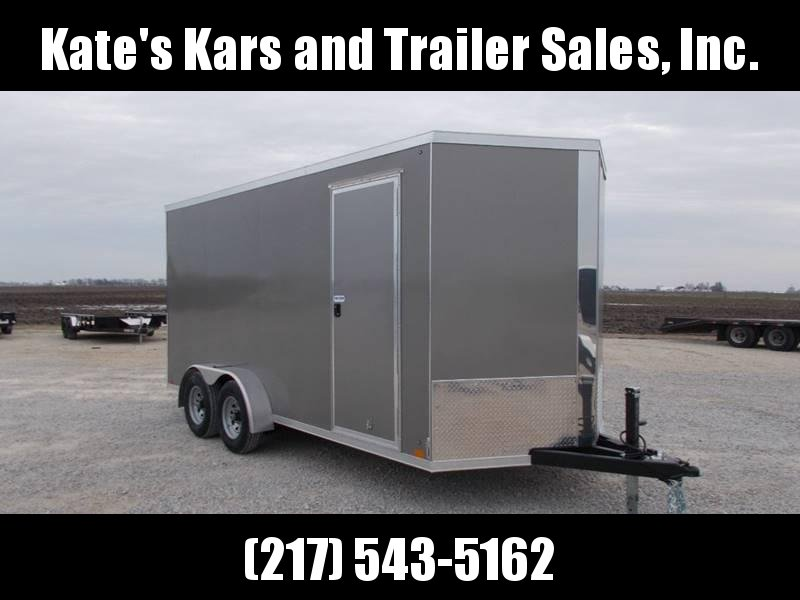 "2020 Cross Trailers 7X16 12""+Tall D-Rings 5200# Axles Stab Jacks Enclosed Cargo Trailer"
