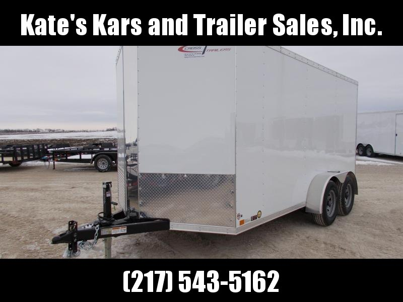 EXTRA HEIGHT Cross 7X14' 9990 LB GVWR Enclosed Cargo Construction Trailer