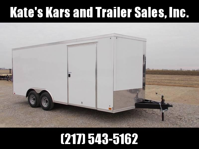 2020 Cross Trailers 8.5X18 Tandem Axle 9990GVWR Enclosed Cargo Trailer