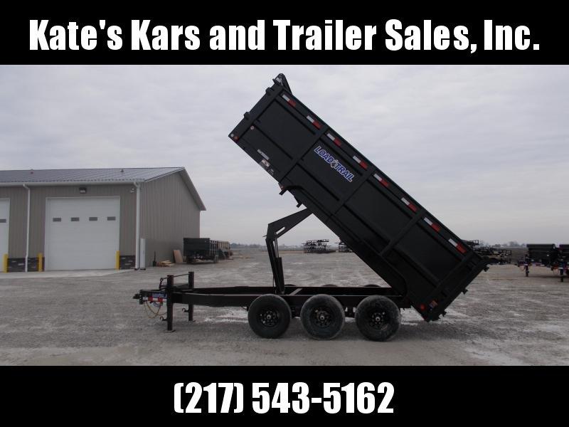 """2020 Load Trail 83X16' Triple Axle 21K 48"""" Side Walls Dump Trailer"""
