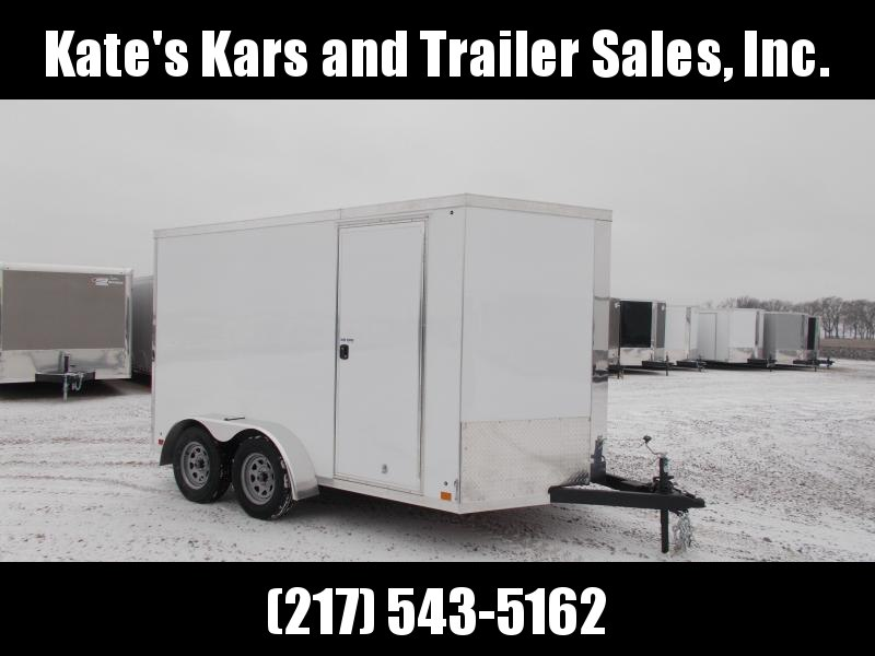 2020 Cross Trailers 7X12 Tandem Axle Extra Tall Enclosed Cargo Trailer