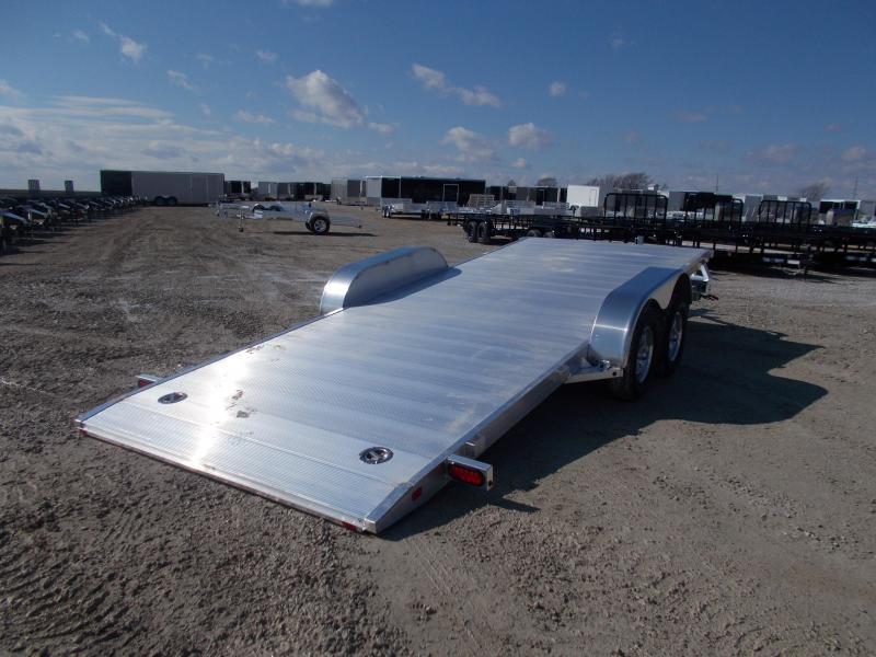 2021 Aluma 82X18' Tandem Axle Aluminum Tilt Equipment Trailer